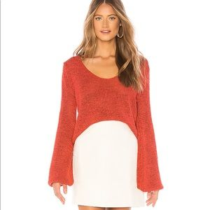 Minkpink red sweater